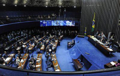 Senado 400x255 - Plenário do Senado pode votar hoje limites a ministros do Supremo