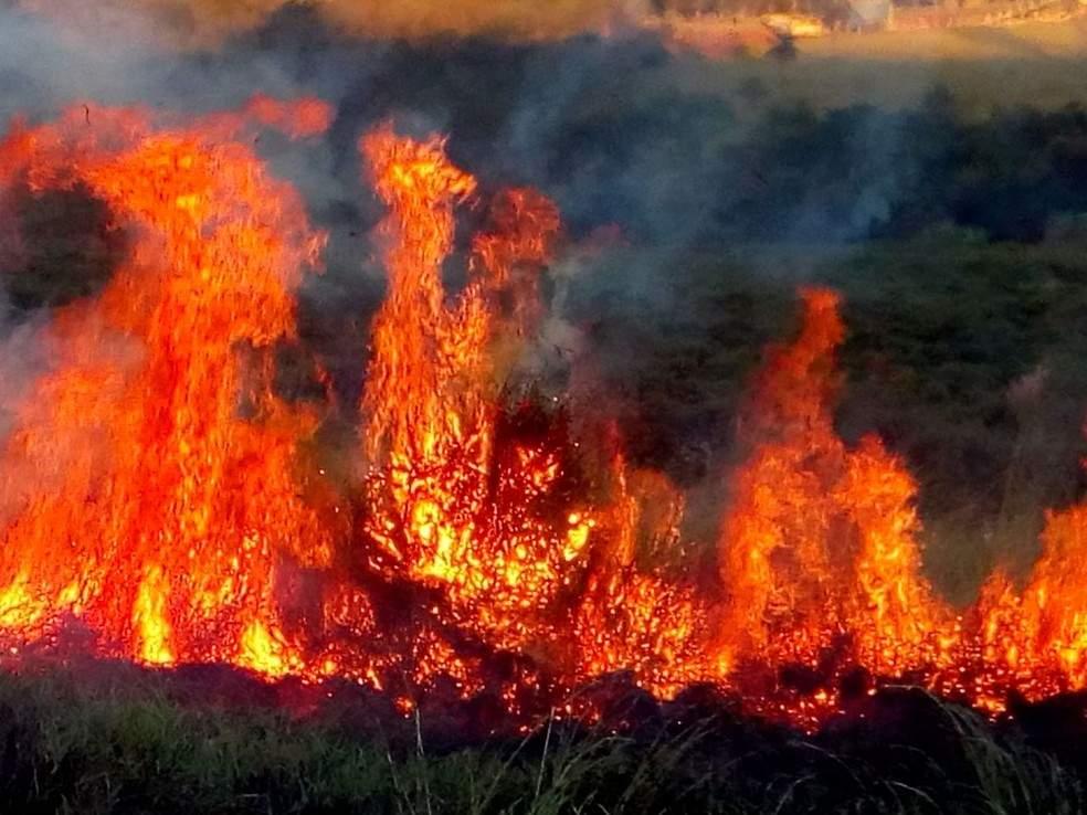 Bombeiros combateram vários focos de incêndio nesta madrugada de sexta-feira(02),em Colatina