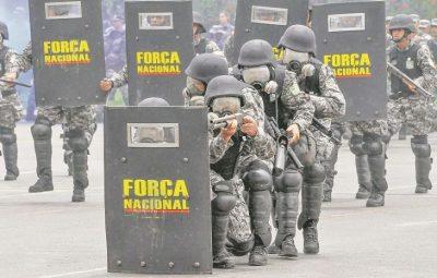 policiais forca nacional 64ca1164cab6ebdd2375c4df392d26e6 400x255 - Cem militares da Força Nacional chegam ao Estado para combater criminosos