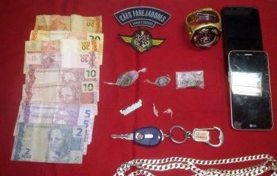 release 090 400x255 - UNIDADE K-9 DA 10ª CIA IND APREENDE DROGAS EM PIÚMA