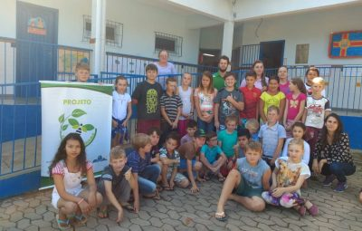 IMG 20190919 WA0323 400x255 - Dia da Árvore: alunos de Domingos Martins aprendem  importância das abelhas para o reflorestamento