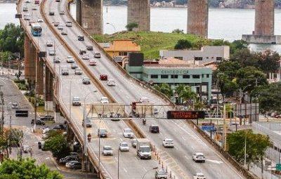 terceira ponte 400x255 - Já são 2 milhões de veículos circulando no Espírito Santo