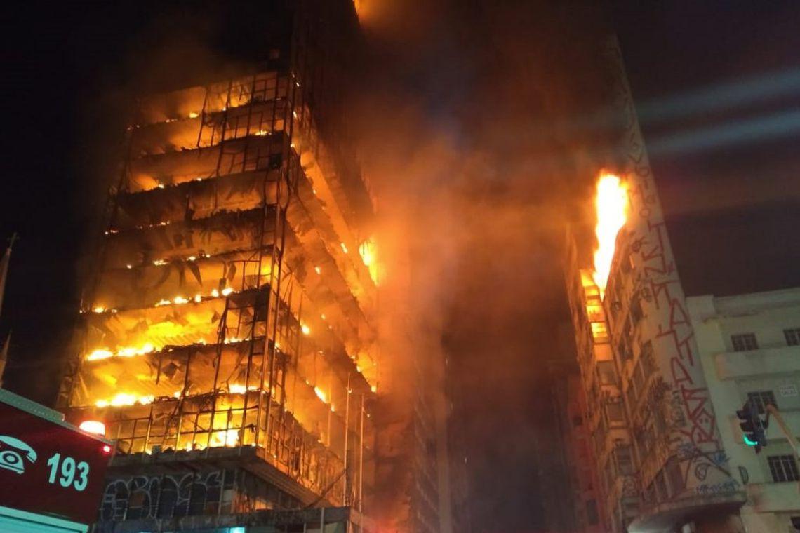 MP denuncia seis por incêndio e desabamento de prédio em São Paulo