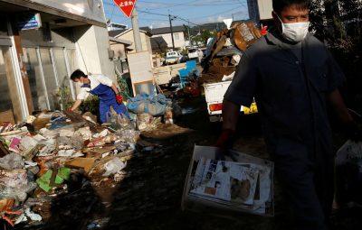 Prejuízos causados pelo Tufão Hagibis no Japão continuam a subir 400x255 - Prejuízos causados pelo Tufão Hagibis no Japão continuam a subir