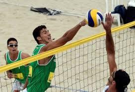 Dupla do Brasil vence no vôlei de praia dos Jogos Militares