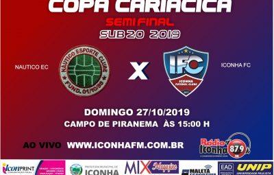 nautico x iconha 400x255 - Iconha e Esporte Clube brasil decidem semifinal do Cariacica sub 20 em casa