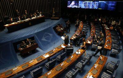 senado 1 400x255 - Fim da votação de destaques à reforma da Previdência fica para amanhã