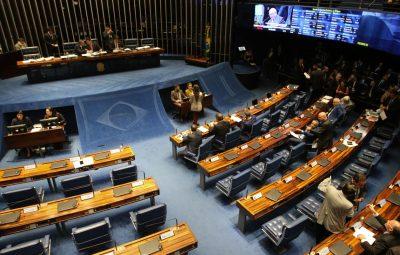 senado 400x255 - Senado aprova projeto de lei da cessão onerosa