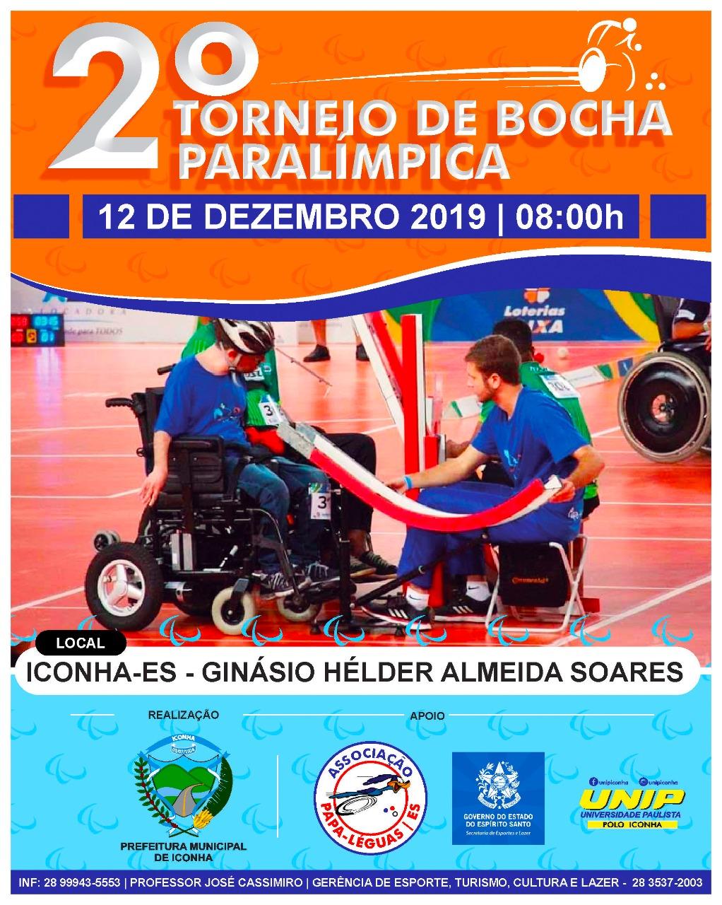 Iconha Sediará 2º Torneio de Bocha Paralímpica