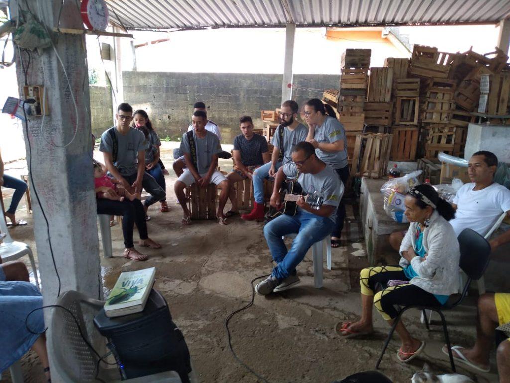 WhatsApp Image 2019 12 08 at 23.14.29 1 1 1024x768 - Grupo de Jovens que desenvolvem ações sociais  ajudam associação em Rio Novo do Sul