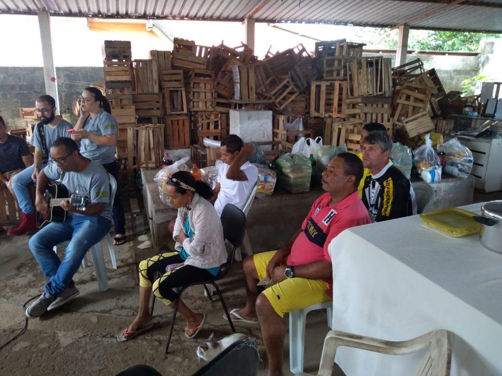 WhatsApp Image 2019 12 08 at 23.14.29 2 1024x768 - Grupo de Jovens que desenvolvem ações sociais  ajudam associação em Rio Novo do Sul