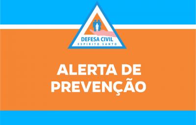 Alerta 400x255 - Atenção: Rio Iconha sobe quase 4 metros e coloca população em alerta máximo