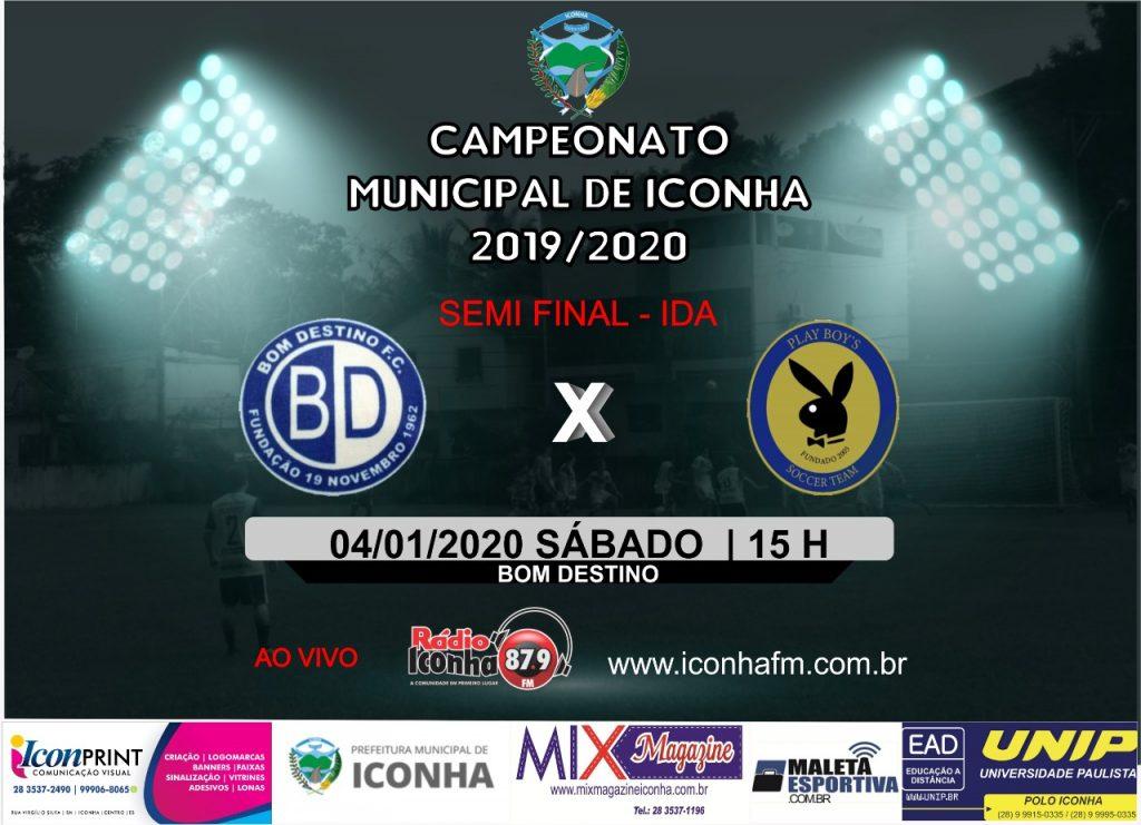 WhatsApp Image 2019 12 31 at 09.15.54 2 1024x741 - Vão começar as semifinais do Municipal de Iconha