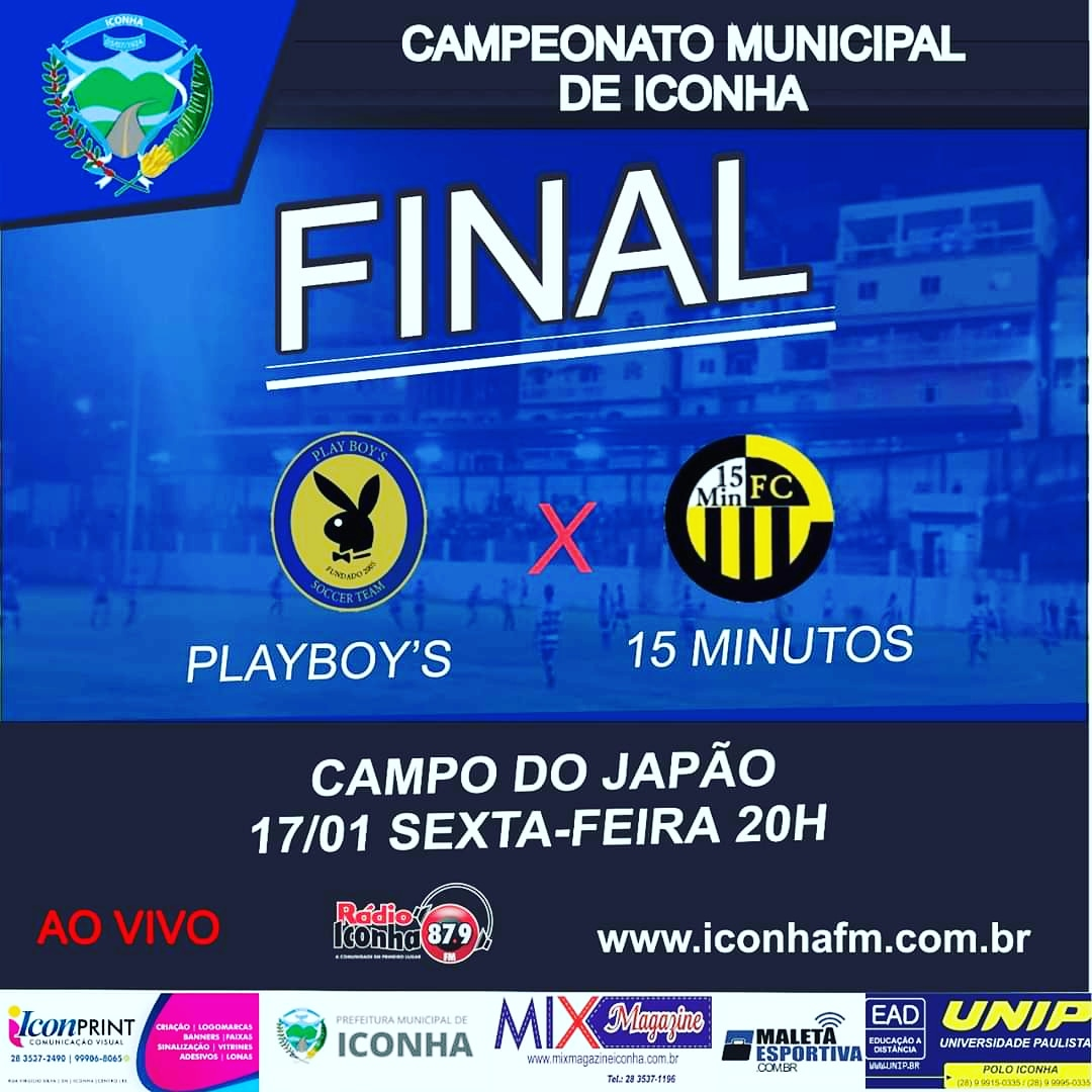 final do campeonato municipal de Iconha