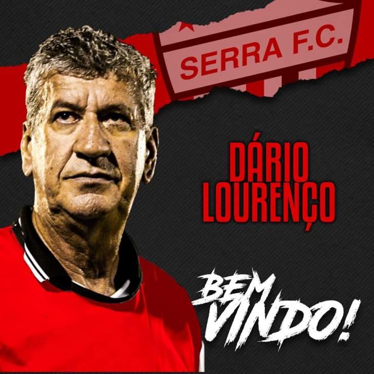 Dário Lourenço assume comando do Serra