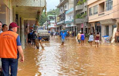 desastre em Iconha ES 400x255 - Moradores de cidades afetadas pela chuva já podem sacar Bolsa Família