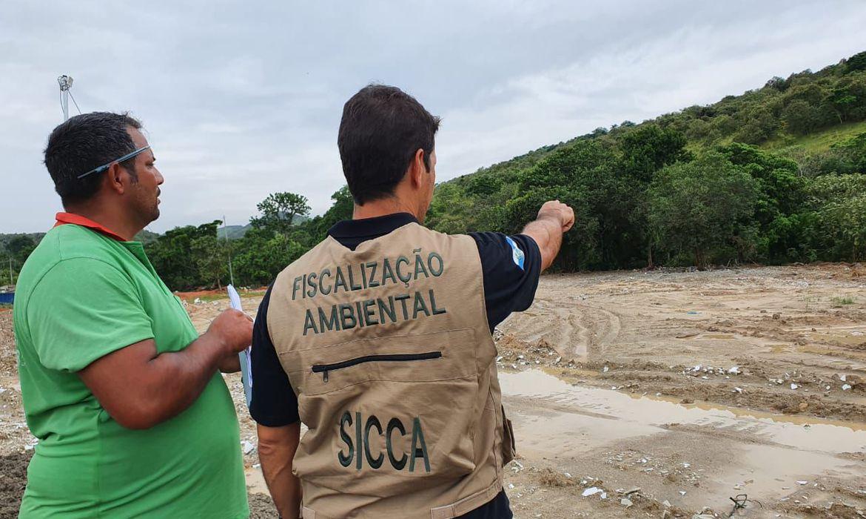 Rio: Polícia Ambiental faz mapeamento da bacia do Rio Guandu