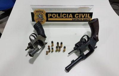 DHPP de Guarapari prende suspeito de homicídio no bairro Perocão 400x255 - Polícia de Guarapari prende suspeito de homicídio no bairro Perocão