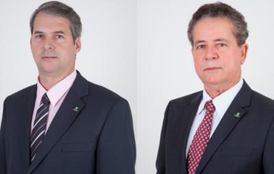 Fábio Novaes e Rubens Moreira Divulgação Sicoob ES 400x255 - Sicoob disponibiliza R$ 20 milhões para pessoas prejudicadas pelas chuvas no Sul do ES