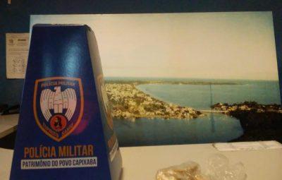 Imagem 2 400x255 - Policia Militar apreendem drogas em Anchieta
