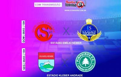 WhatsApp Image 2020 03 07 at 13.50.20 400x255 - Dois Jogos do Campeonato Capixaba série B serão transmitidos pela Rádio Iconha fm maleta esportiva