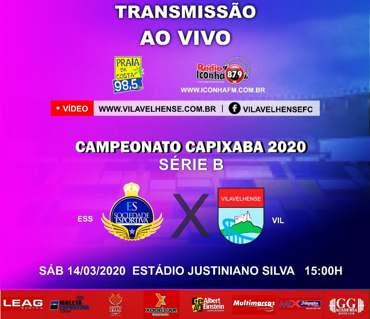 campeonato capixaba seri B 2020 - ao vivo na rádio iconha fm