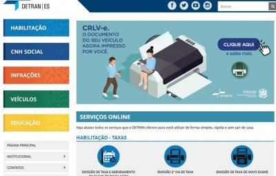 detran 400x255 - Detran|ES disponibiliza serviço on-line de 2ª via de CNH sem ônus