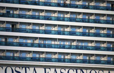 2020 03 30t221533z 1472292993 rc2muf9zgx2c rtrmadp 3 health corona passenger ship 400x255 - Morre segundo tripulante de navio em quarentena no Porto de Santos