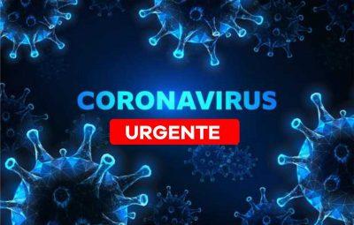corona urgente 400x255 - Primeiro caso de coronavírus é confirmado em Iconha
