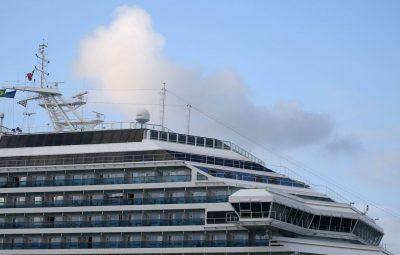 navio costa 400x255 - Cerca de 230 tripulantes deixam hoje navio Costa Fascinosa em Santos