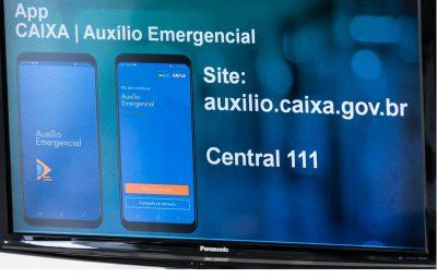 caixa 2 400x255 - Caixa pagou R$ 70,8 bilhões em auxílio emergencial