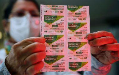 cloroquina 400x255 - França suspende hidroxicloroquina como tratamento para covid-19