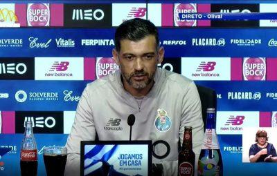tecnico sergio conceicao do porto durante coletiva de imprensa 400x255 - Campeonato Português está de volta nesta quarta-feira com dois jogos