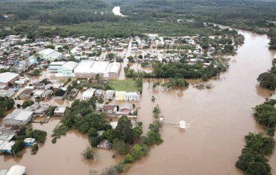09 07 2020 chuvas rs 2 400x255 - Defesa Civil mantém alerta para risco de inundações no sul do país