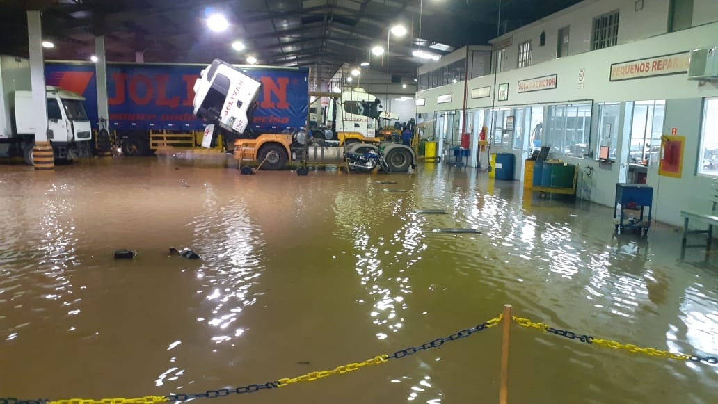 Chuva forte volta assombrar moradores de Iconha