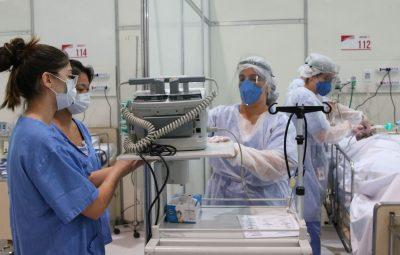 profissionais da saude 400x255 - Apenas um terço dos profissionais de saúde foi testado para covid-19
