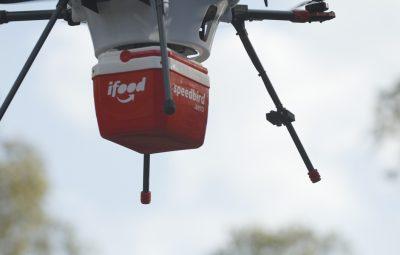 Drone IFood 400x255 - iFood começará testes para utilizar drones em sistema de entregas