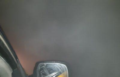 fumaca 400x255 - Trecho onde ocorreu acidente com 8 mortos na BR-277 é interditado por mais de três horas pela PRF e pela Ecovia