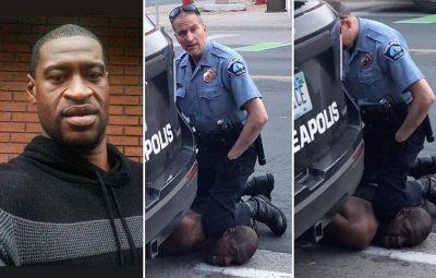 morte de George Floyd em Minneapolis nos Estados Unidos 400x255 - Câmeras em uniformes de policiais registraram abordagem a George Floyd