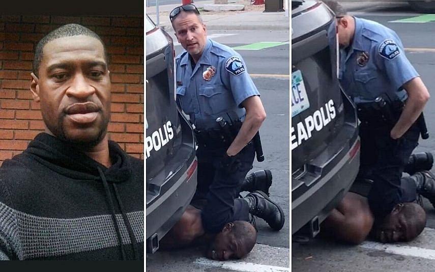 Câmeras em uniformes de policiais registraram abordagem a George Floyd