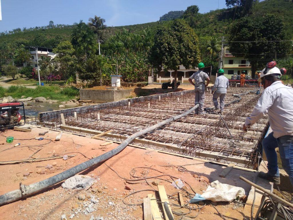 WhatsApp Image 2020 09 12 at 12.32.16 1024x768 - Nova ponte de Bom Destino em Iconha recebe últimos reparos de concreto