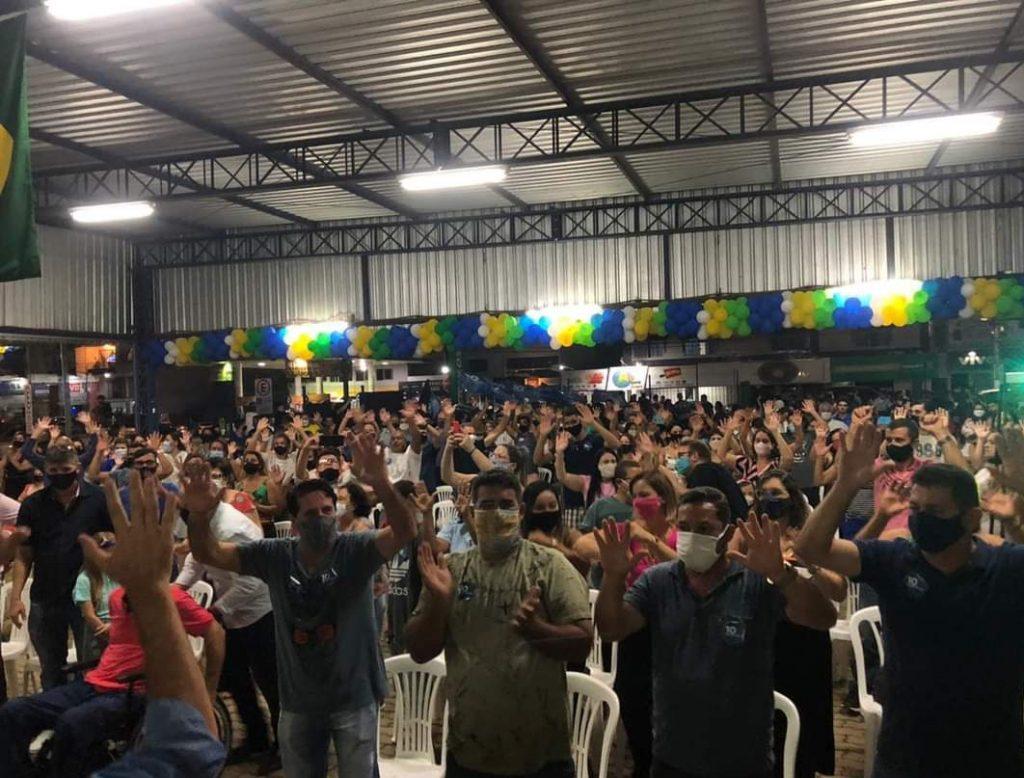 WhatsApp Image 2020 10 01 at 23.44.16 1024x778 - Candidatura de Gedson Paulino e Fernando Volponi à Prefeitura de Iconha é lançada oficialmente