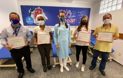 Doacao 01 400x255 - Doadores de sangue recebem homenagem na Santa Casa
