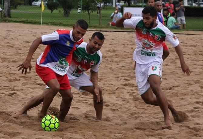 beach 670x460 - Anchieta derrota Flamengo e fica com o 3º lugar no brasileiro de Beach Soccer