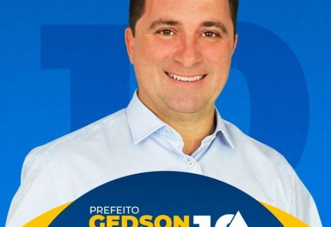 gedson 1 670x460 - Prefeito eleito em Iconha testa positivo para Covid 19
