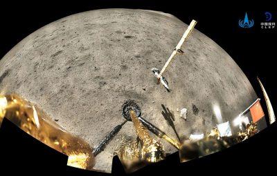 Sonda chinesa esta a caminho da Terra depois de concluir missao na Lua 400x255 - Sonda chinesa está a caminho da Terra depois de concluir missão na Lua