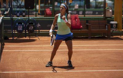 carol meligeni tenista 400x255 - Carol Meligeni avança às quartas do segundo torneio ITF no Egito