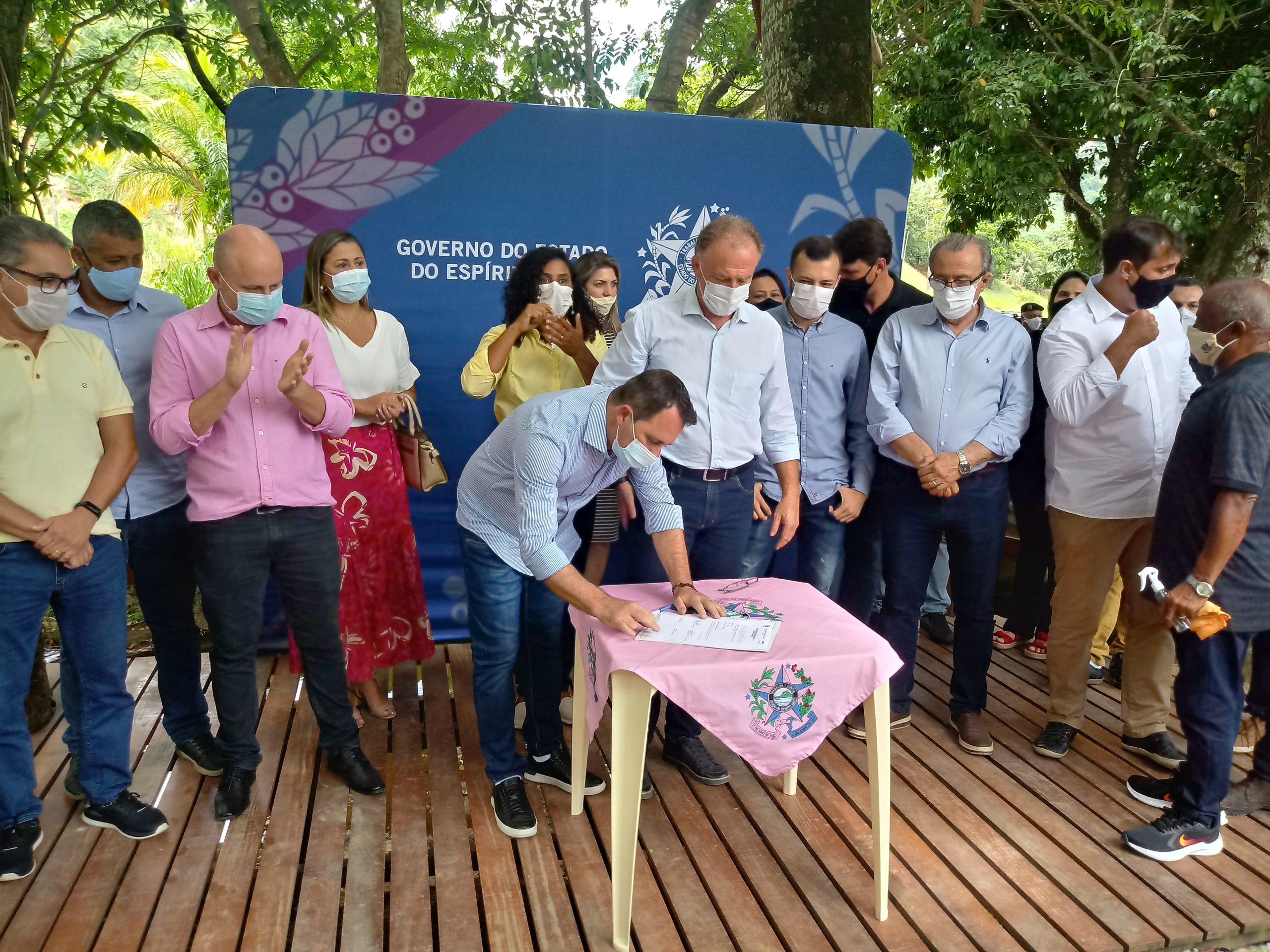 Governo do Estado e Prefeitura de Iconha unidos na reconstrução de Iconha