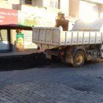 WhatsApp Image 2021 01 05 at 19.00.48 1 150x150 - Prefeitura mobiliza secretaria de obras e realiza várias ações para deixar a cidade limpa e mais organizada.
