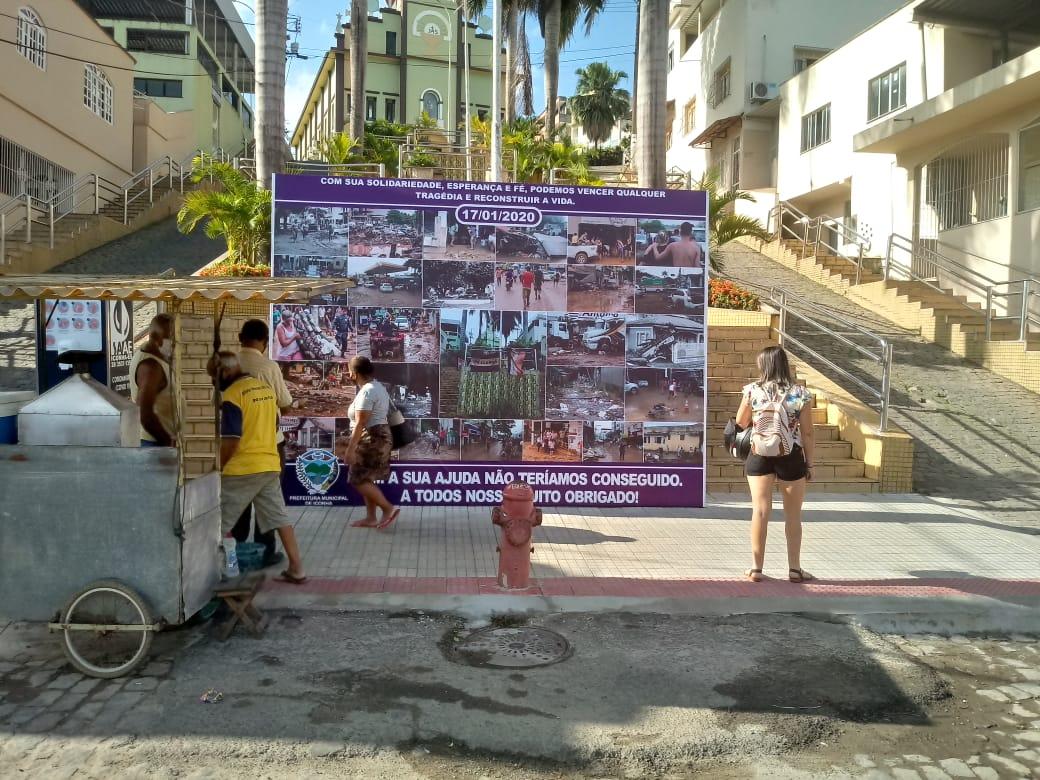 Iconha relembra em fotos a maior tragédia do município